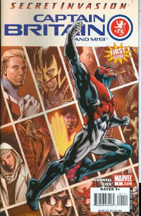 Captain Britain And MI13 #1 First Print Marvel comic book